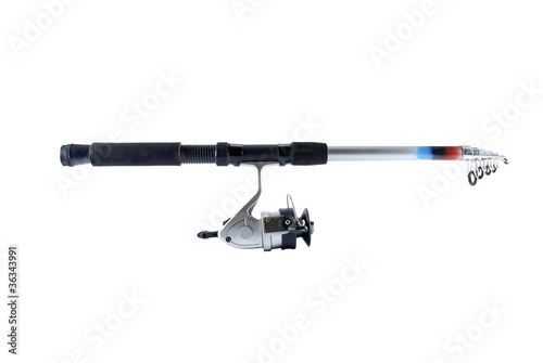 Fishing rod.