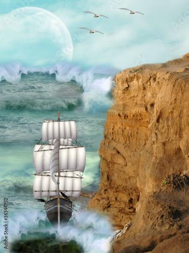 fantasy landscape - 36344952