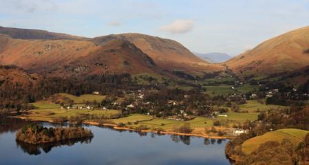 English Countryside Village, Lake District