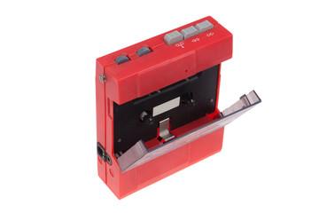 old vintage audio casstette player
