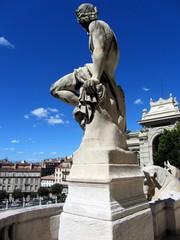 Statue Palais Longchamp