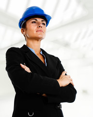 Female engineer portrait
