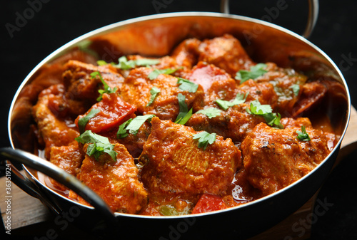 canvas print picture Indian Chicken Curry