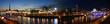 Moscow, Russia. Night. Panoramic view