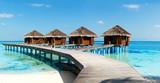 Fototapeta woda - niebieski - Restauracja / Hotel