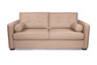 Modern tan couch sofa