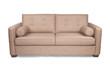 Modern tan couch sofa