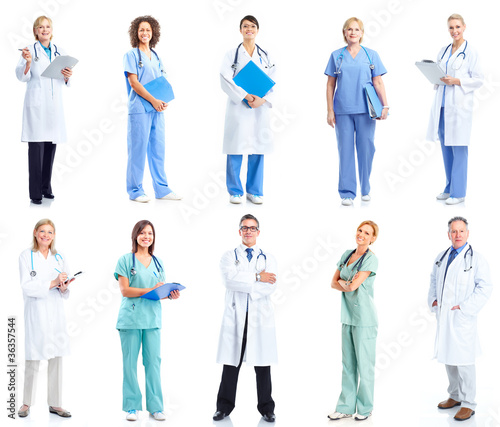 Group of medical doctors. - 36357544
