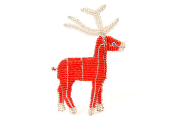 Red Christmas reindeer