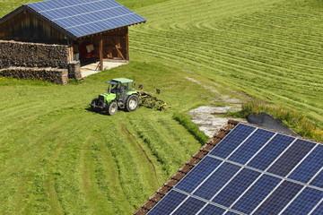 Verschiedene Solaranlagen