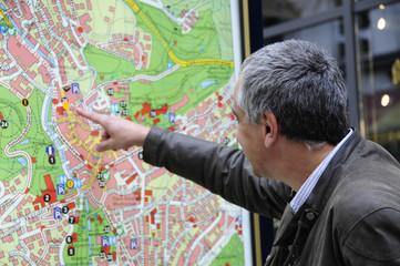 Mann Stadtplan