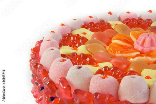Gummibärchenkuchen