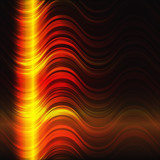 Abstract flaming background