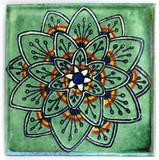 Square Mexican tile shape