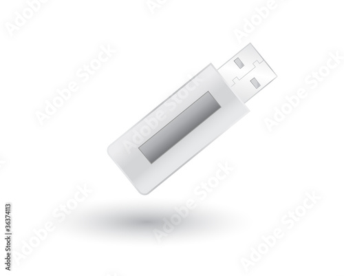 USB Pendrive with shadow