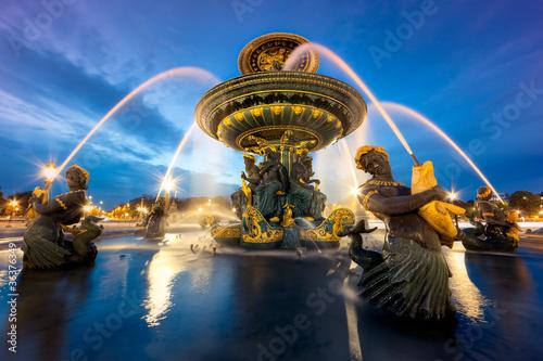 fontaine place de la Concorde, Paris - 36376349