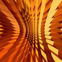 Textured Orange CG Background