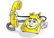 telephone service call