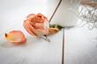 Getrocknete Rosenblüte