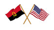 American and Angolan alliance and friendship