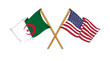American and Algerian alliance and friendship