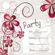 party invitation vector design