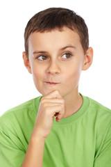 Doubtful kid