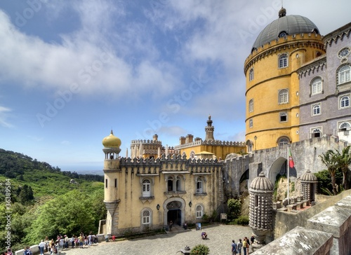 Pena National Palace, Sintra, Portugal.