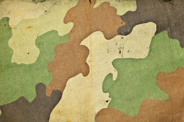 Retro camouflage army background