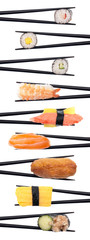 One Tasty Row of Sushi