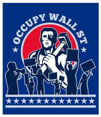 occupy wall street worker