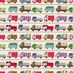 seamless truck pattern