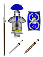Armor and weapons of the Roman legionary