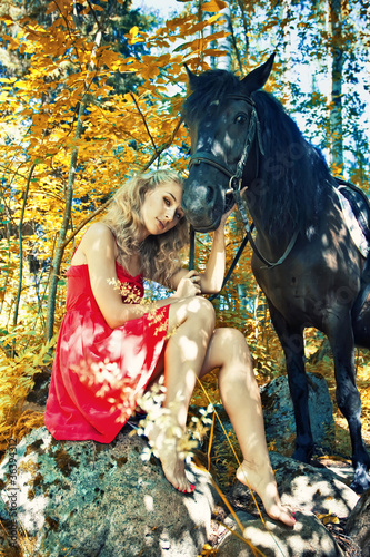 Beauty and horse