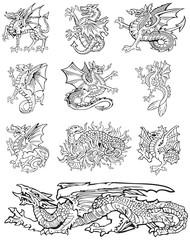 Heraldic monsters vol X