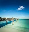 plage ponton