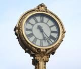 decorative nostalgic clock poster