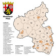 Kreiskarte Rheinland-Pfalz