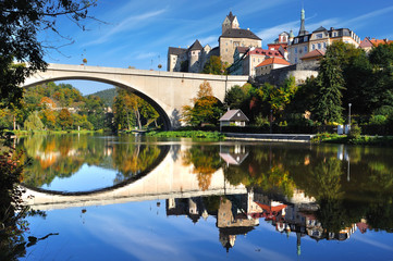 Castle Loket. Czech republic