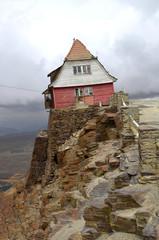 Ski Hut on Chacaltaya mountain