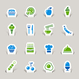 Papercut - Food Icons poster