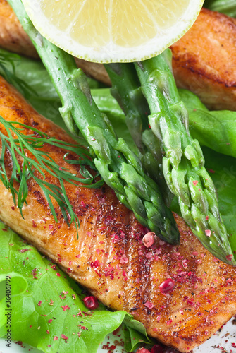 Salmon Asparagus Meal