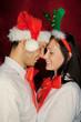 weihnachten paar