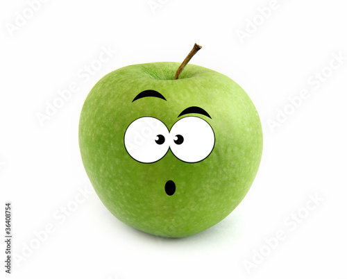 Surprised apple