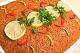 "Traditional polish ""greek style fish"""