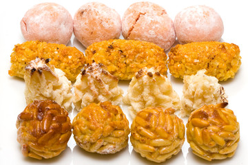 Flavoured panellets