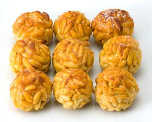Pine nut panellets