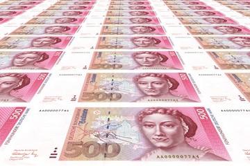 500 DM Banknoten