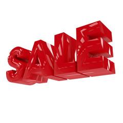 """""""Sale"""" -  3d-Schriftzug"""