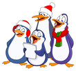 Caroling penguins